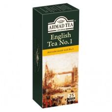 Чай Ahmad Tea Англійський №1 25х2г