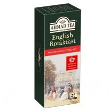 Чай Ahmad Tea Англійський до сніданку 25х2г