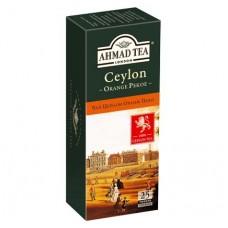 Чай Ahmad Tea Цейлон Оранж Пеко 25х2г