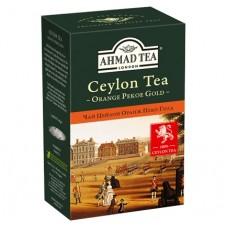 Чай Ahmad Tea Цейлон Оранж Пеко Голд 100г