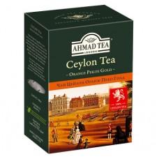 Чай Ahmad Tea Цейлон Оранж Пеко Голд 200г