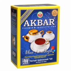 Чай Akbar BLUE AMETTHYST  черный листовой 100г