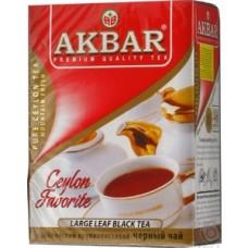 Чай Akbar CEYLON FAVORITE черный крупнолист. 100г
