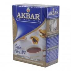 Чай Akbar CEYLON PEKOE №1  черный крупнолист. 100г