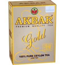 Чай Akbar GOLD черный листовой 100г