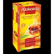 Чай Alokozay чёрный АССОРТИ 25х2гх24 ф/п