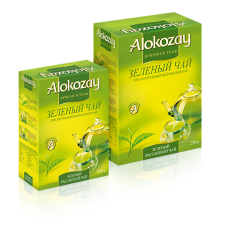 Чай Alokozay зелёный 100г