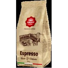 Кофе в зернах Amalfi Coffee Espresso Gusto Delicato 250 г