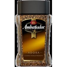 Кофе растворимый Ambassador Adora 95 г ст/б