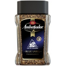 Кофе растворимый Ambassador Blue Label 95 г ст/б