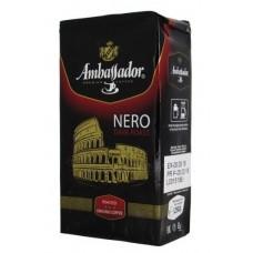 Кофе молотый Ambassador Nero 250 г вак/уп