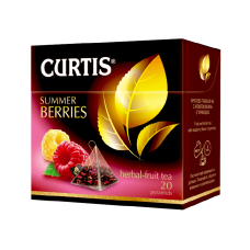 Чай CURTIS Саммер Берис 20*1,7г  Пирам