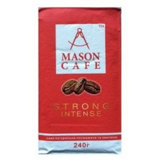 Кофе молотый Mason молотый Strong Intense 240 г вак/уп