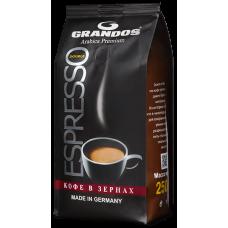 Кофе в зернах Grandos Espresso 250 г