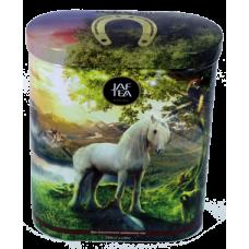 Чай Jaf На счастье черн+зелен 200г ж/б