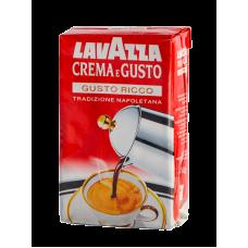 Кофе молотый Lavazza Crema e Gusto Rico 250 г вак/уп