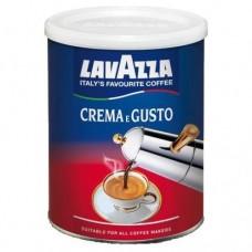 Кофе молотый Lavazza Crema e Gusto 250 г ж/б