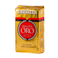 Кофе молотый Lavazza Qualita Oro 250 г вак/уп
