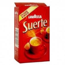 Кофе молотый Lavazza Suerte 250 г серебр. вак/уп