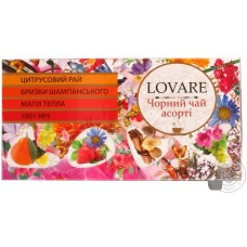 Чай Lovarе ассорти черный чай ф/п 24х2г