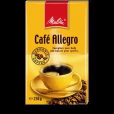 Кофе молотый  Melitta Cafe Allegro 250 г вак/уп