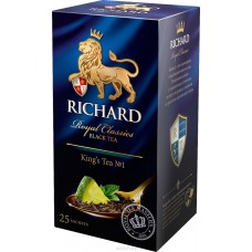 Чай Richard Kings tea №1 25*2г пак