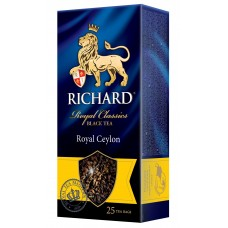 Чай Richard Royal Ceylon 25*2г пак