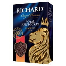 Чай Richard Royal Aristocrat черный крупнл. 80г