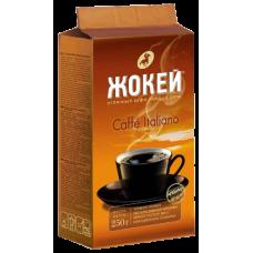 Кофе молотый Жокей Еспрессо Ітільяно 250 г вак/уп