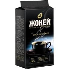 Кофе молотый Жокей Традиційний 225 г вак/уп
